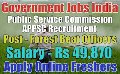 APPSC Recruitment 2019