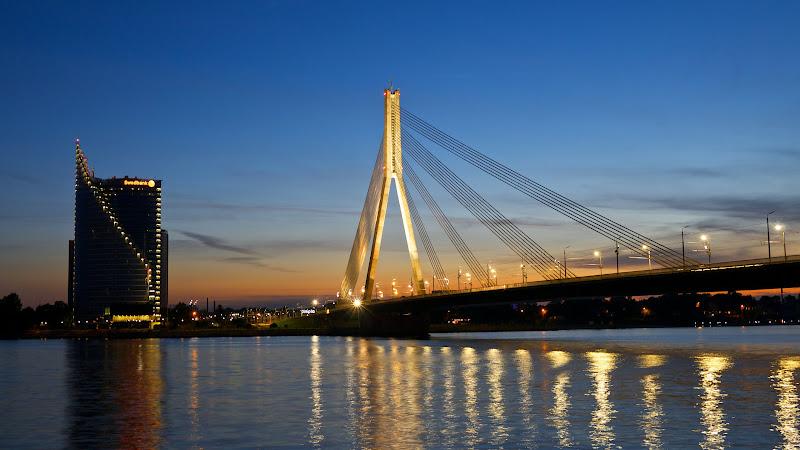 Riga Night Lights