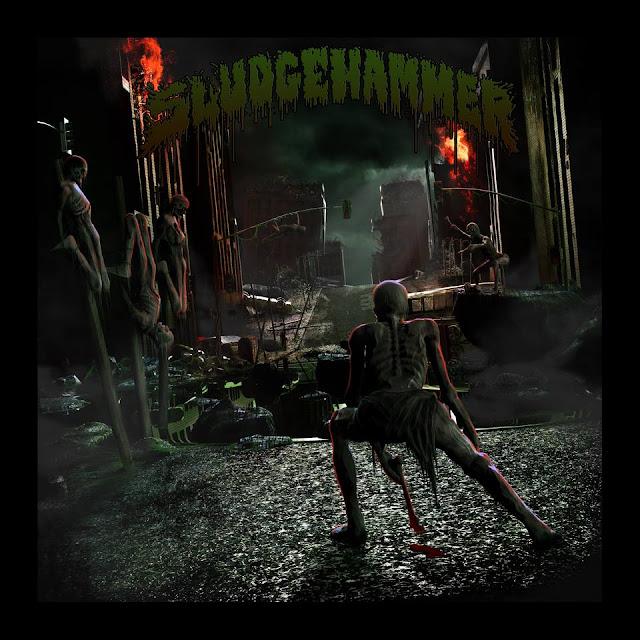 Detail from Sludgehammer New Album, The Fallen Sun, Detail from Sludgehammer New Album The Fallen Sun