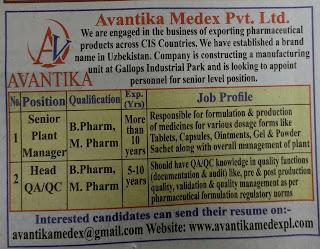 Avantika Medex Pvt ltd