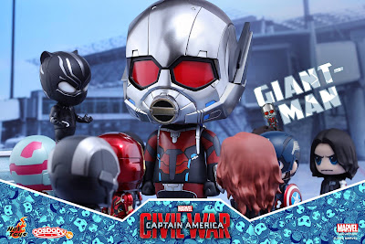 Marvel's Captain America Civil War Giant-Man & Miniature Ant-Man Cosbaby Box Set by Hot Toys