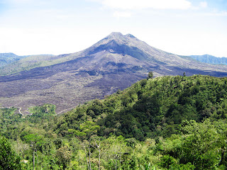 Natural Scenery of Batur Kintamani