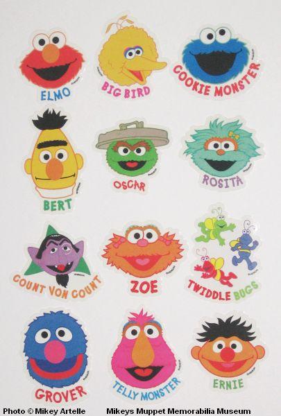 Mikey's Muppet Memorabilia Museum: Sesame Street: 2000 - 2017