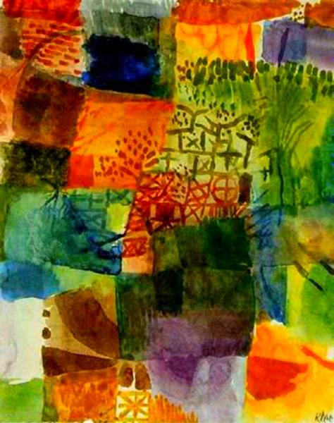 Record d'un jardí (Paul Klee)