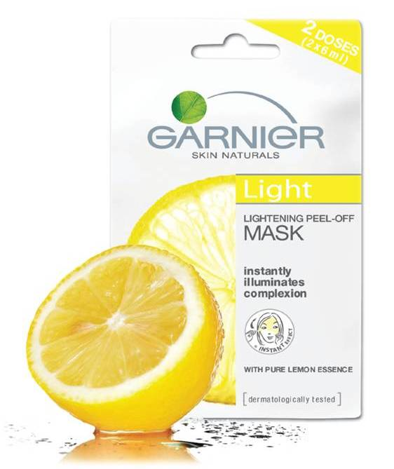 Sponsor Review : Garnier Light Peel-off Mask
