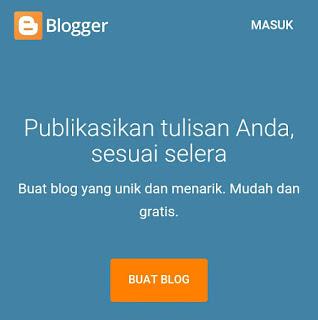 Cara membuat blog di blogspot lengkap untuk pemula