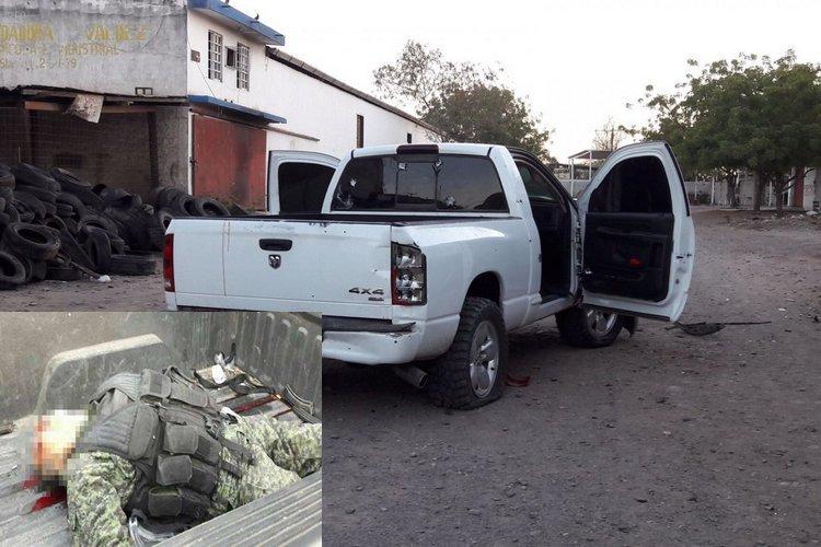 Fuerte enfrentamientos en Guamúchil dejan 6 personas muertos.