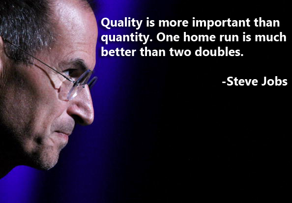 Steve Jobs quality