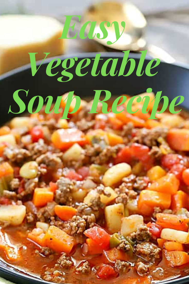 #Easy #Vegetable #Soup #Recipe