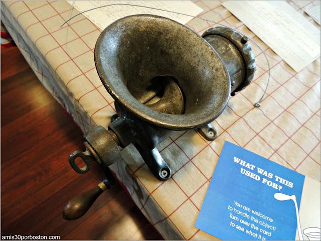 Cacharros de Cocina de la Mansión Ropes de Salem