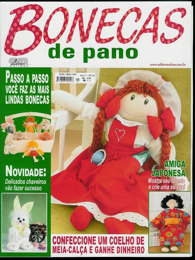 Bonecas De Pano-Ano1-N°1