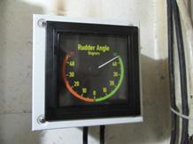 KL. Barombong Steering Gear System Rudder Angle