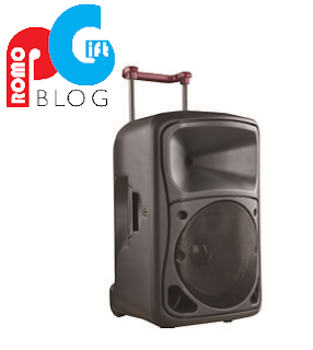 Suitcase Model Speaker