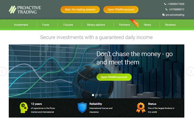[New post] Review Proactive Trading-Lãi ngày từ 0.9-3.58%, một site tốt để đầu tư lâu dài?