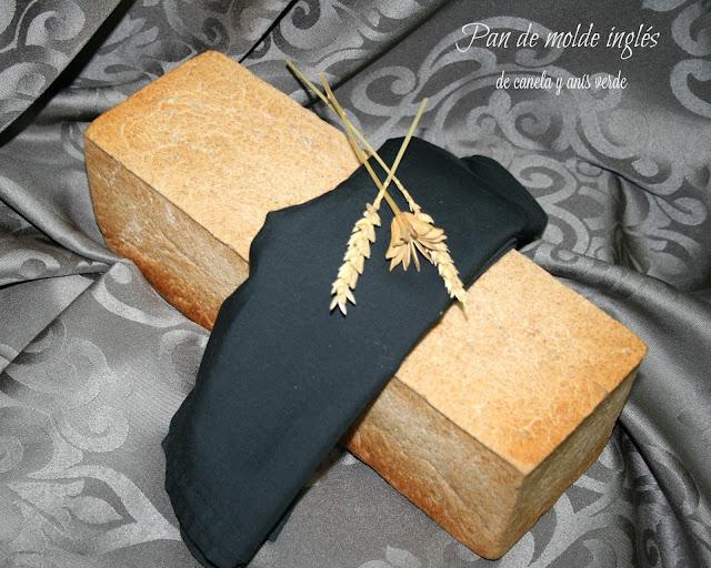 Pan de molde inglés de canela y anís verde
