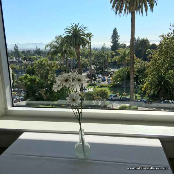 view from Meritage at the Claremont Club & Spa, a Fairmont Hotel in Berkeley, California