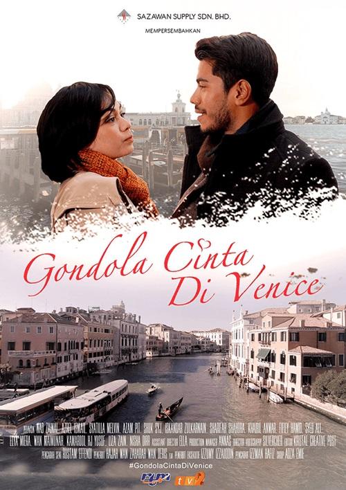 Sinopsis drama Gondola Cinta Di Venice TV2, pelakon dan gambar drama Gondola Cinta Di Venice TV2