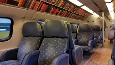 In Olanda i treni si trasformano in biblioteche