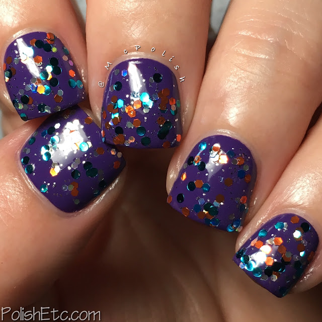 Whimsical Ideas by Pam - Summer 2017 - McPolish - Fins