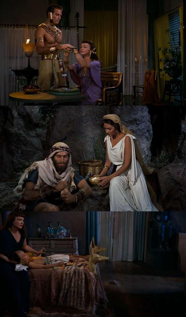 Los diez mandamientos (1956) HD 1080p Latino