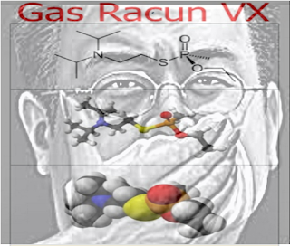 gambar Gas Racun VX yang digunakan untuk membunuh Kim Jong Nam