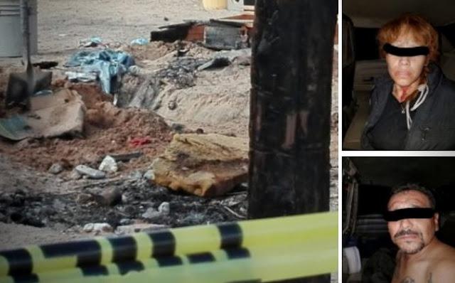 Sorprenden a pareja cuando quemaban en una hoguera a joven mujer