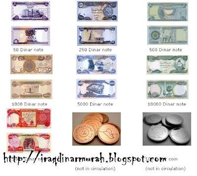 Info Terkini Dinar Iraq Note Semakin Kecil Petanda Rv