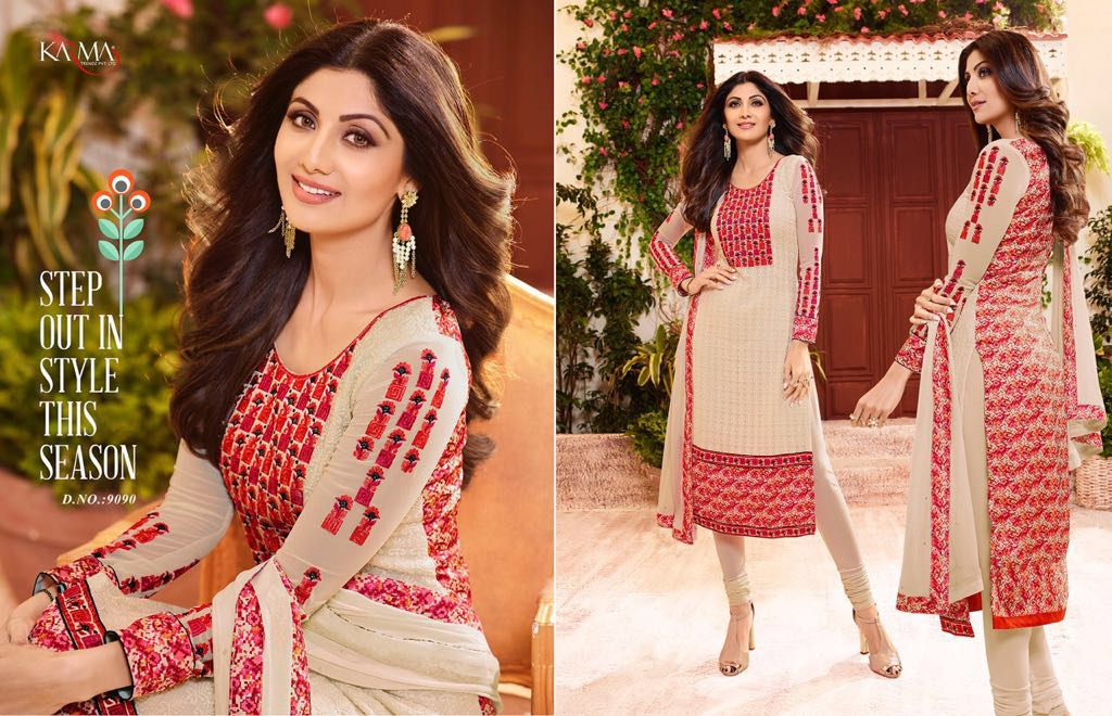 Karma – Latest New Collection Shilpa Shetty Salwar Suit