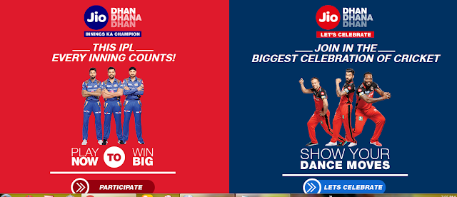 Know How To Participate In Jio Dhan Dhana Dhan Innings Ka Champion and Let's Celebrate Contest And Win Free IPL Tickets And Merchandise