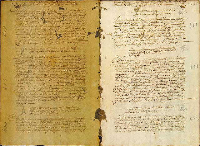 Carta compilada, 13/11/1705. Acervo Arquivo Nacional.