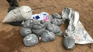 PF combate o tráfico de drogas na Paraíba