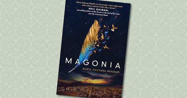 Magonia Maria Dahvana Headley Cover