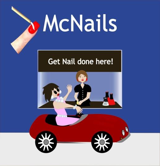 Salon Humor Get Nail Done!