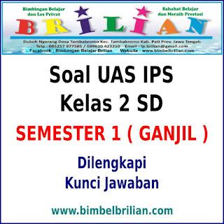Soal UAS IPS Kelas 2 SD Semester 1 (Ganjil) dan Kunci Jawaban