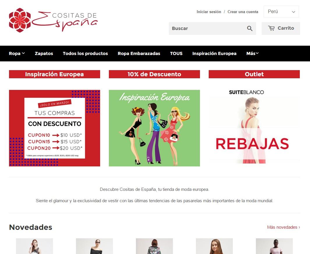 Cositas de España - Tienda Online