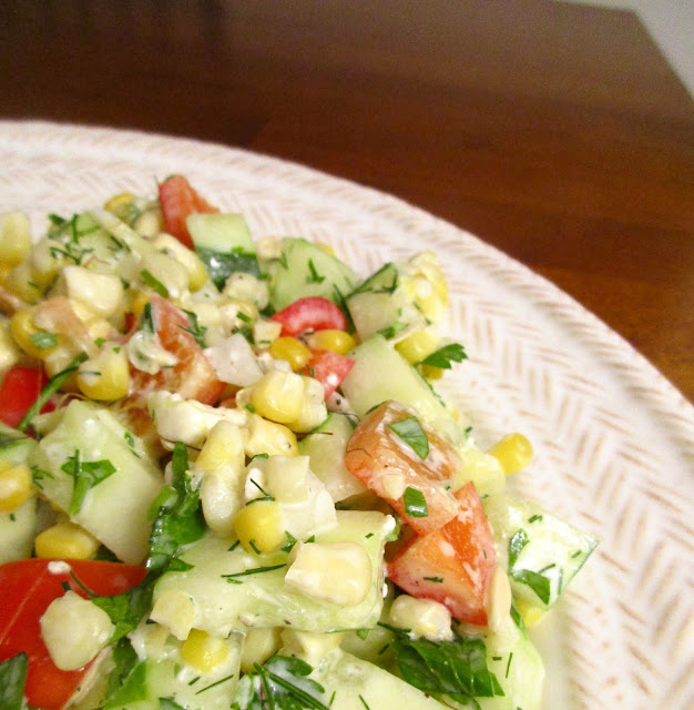 ... the Kitchen: Dilled, Crunchy Sweet-Corn Salad with Buttermilk Dressing