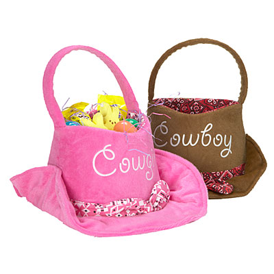 Faulkner S Ranch How To Make A Western Themed Easter Basket