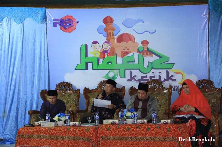 "Bengkulu, DetikBengkulu.com, Wagub Apresiasi Program ""Hafiz Kecik"""