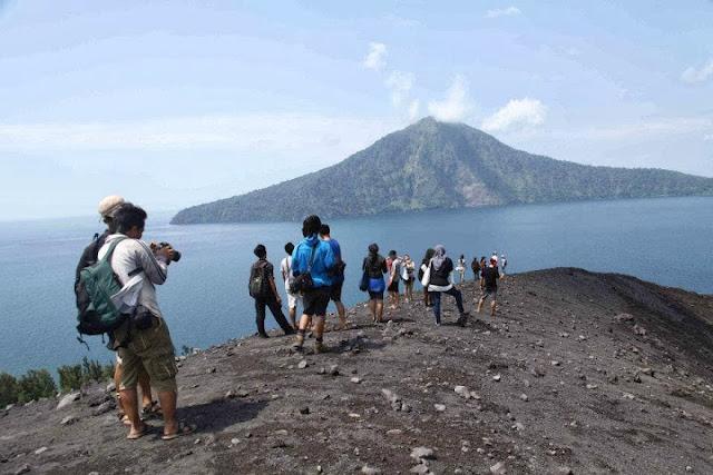 wisata bahari gunung krakatau