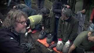 Exhumación realizada por la sociedad de ciencias Aranzadi