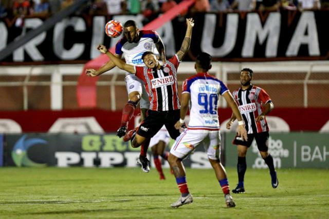Bahia vence Atlético de novo e confirma vaga na final do Baianão