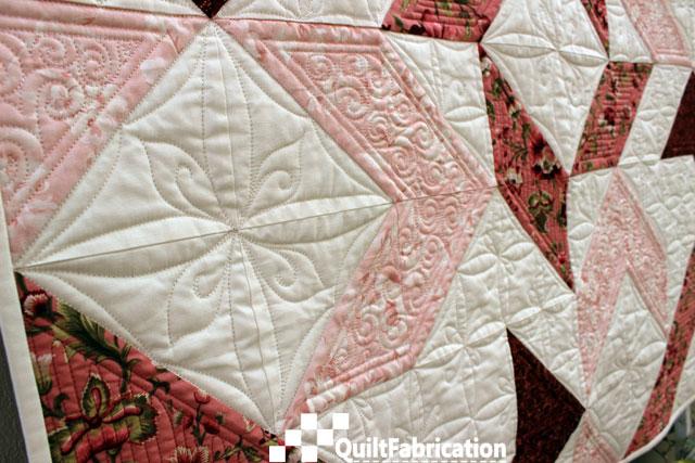 Joy quilt square motif
