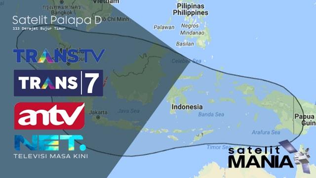 Inilah Frekuensi Terbaru TransTV, Trans7, ANTV dan Net TV 2018