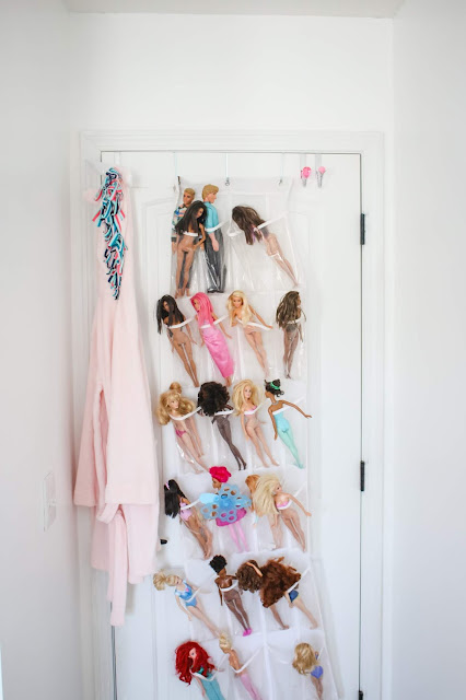 Easy Barbie Storage Hack