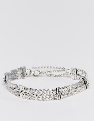 The Best Jewellery Buys from the High Street this SS16 - ASOS - Festival Chain Choker Necklace - £12.00