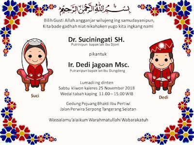 Download template undangan pernikahan dengan bahasa sunda format pptx