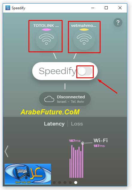شرح كيفية دمج أكثر من إتصال انترنت لمضاعفة سرعة الانترنت