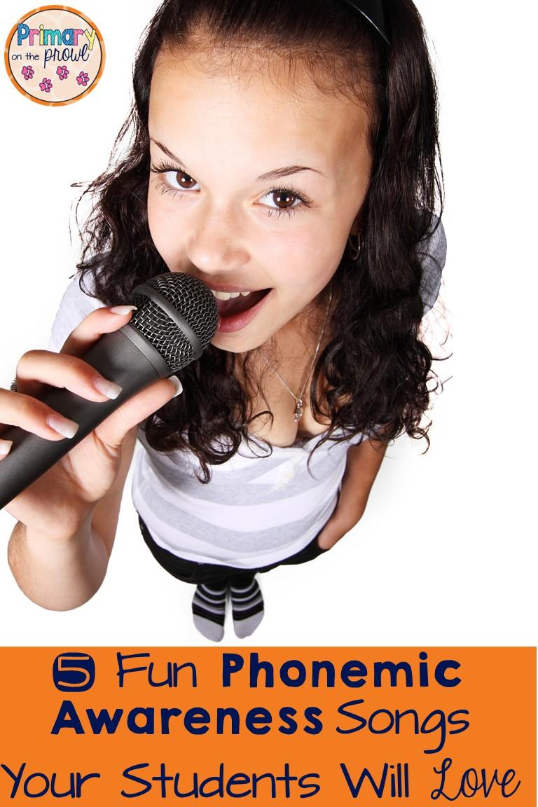 5 fun phonemic awareness songs