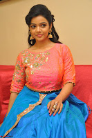 Nithya Shetty in Orange Choli at Kalamandir Foundation 7th anniversary Celebrations ~  Actress Galleries 102.JPG