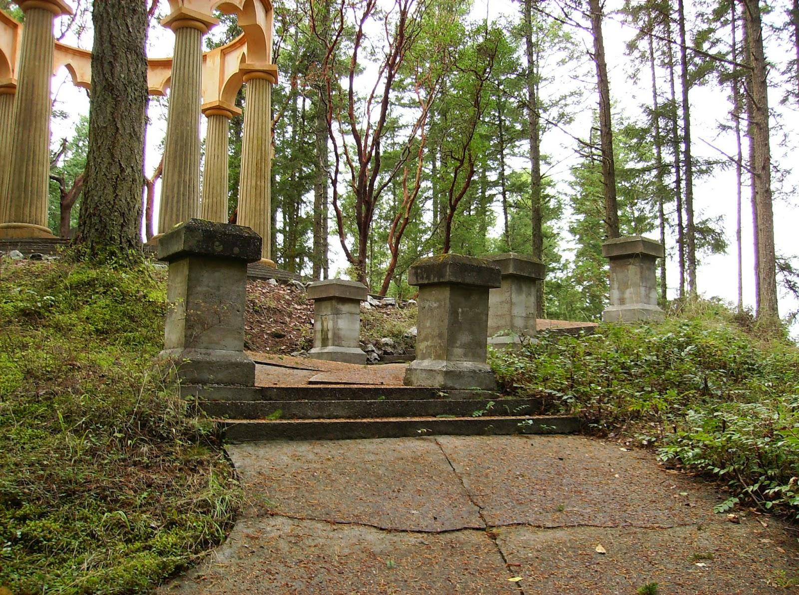 forest columns
